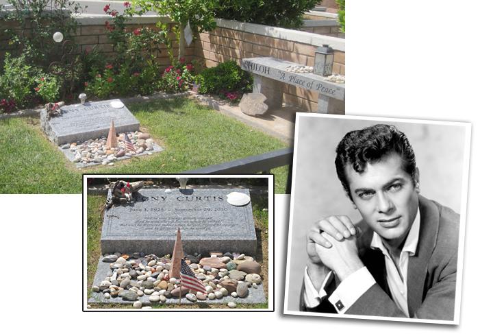 Tony Curtis Grave Site