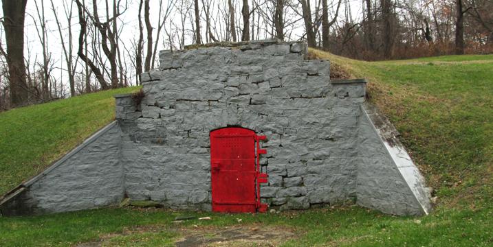 red door vault
