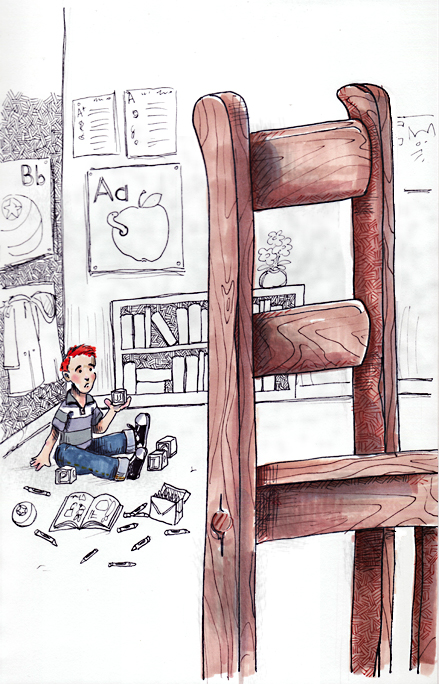 I suck, I suck/I move the big chair in the little truck/My luck has gone away/Big chair and little truck