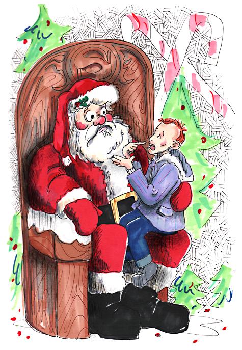 oh! A Santaman!