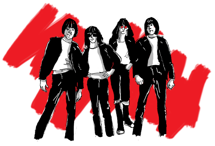 do your parents know you're Ramones?