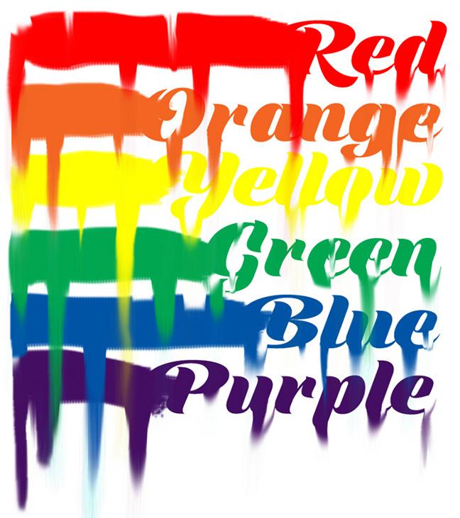 I can sing a rainbow, sing a rainbow, sing a rainbow too